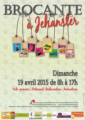 affiche brocante 2015