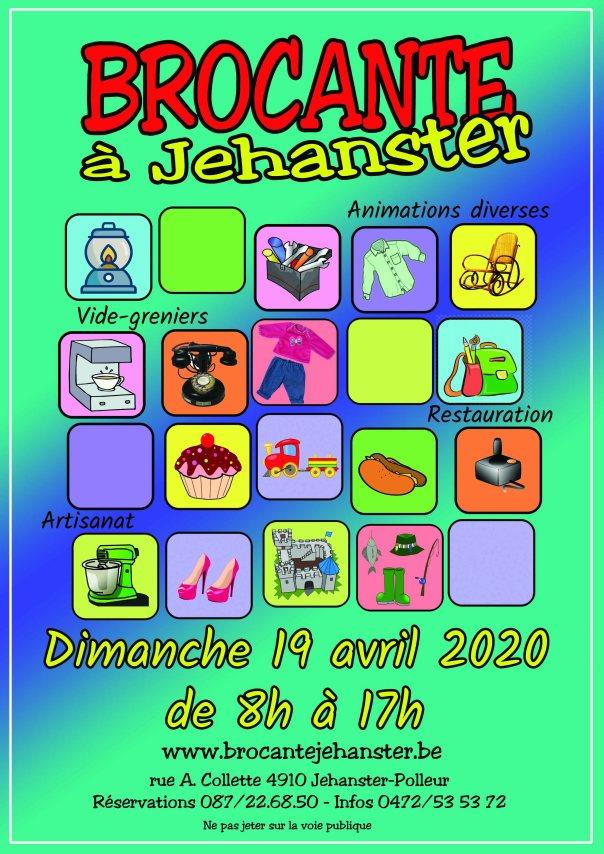 Brocante 2020 - affiche